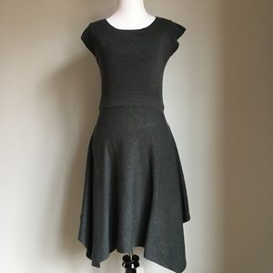 Mossimo Deep Gray A Line Sweater Dress